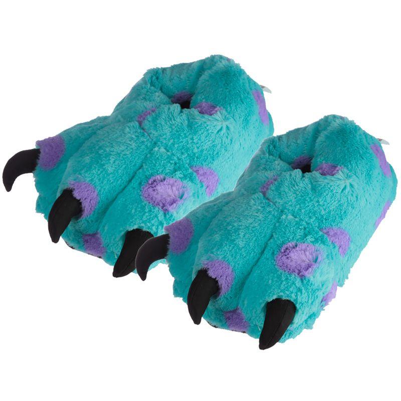 publier des informations sur de gros remise chaude Pantoufles Peluchées Pieds de Monstre (Taille Unique Unisexe)