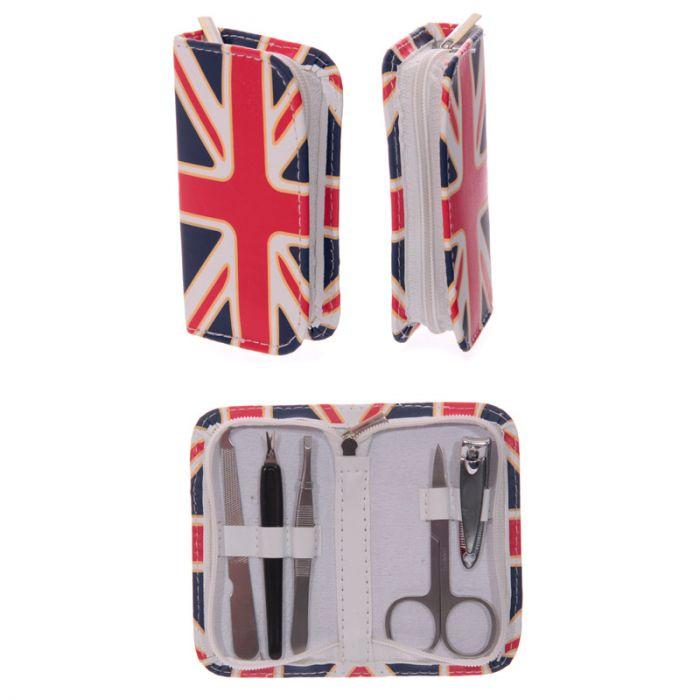 set de manucure drapeau anglais