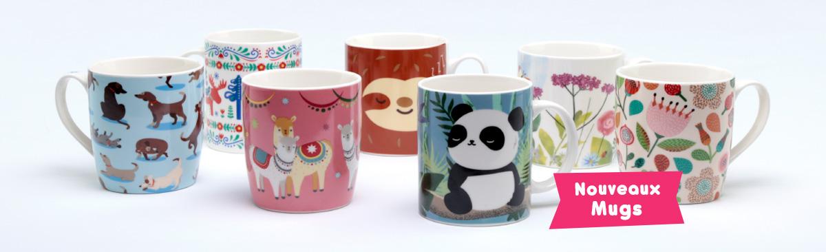 Nouveaux Mugs